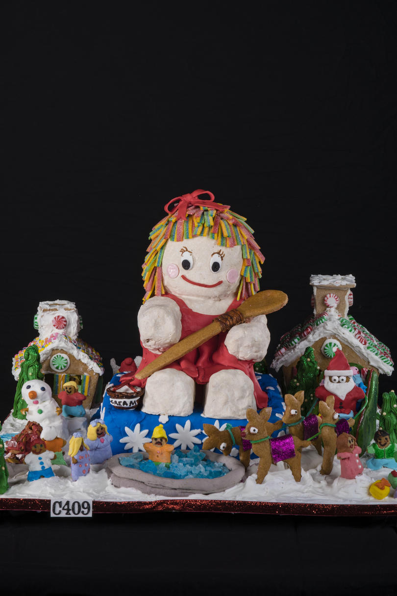 Ginger Baker Gingerbread House Competition