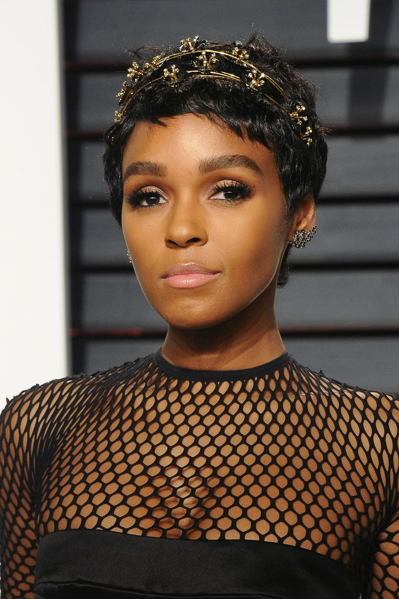 Janelle Monáe's Whimsical Headbands