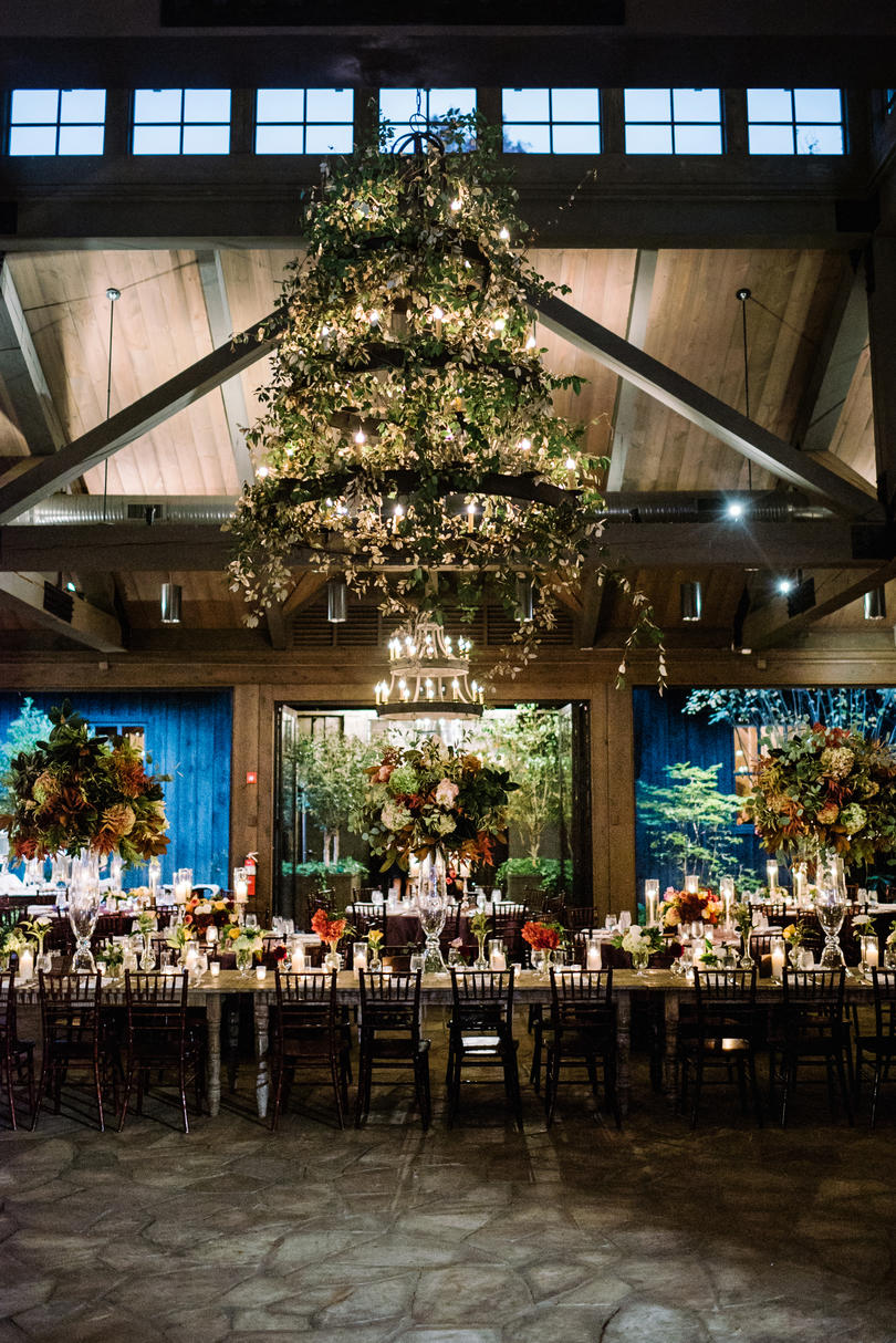 Greenery-Infused Grand Ballroom