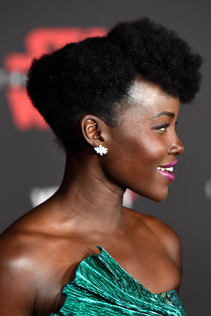Lupita Nyong'o's Natural Hair Looks