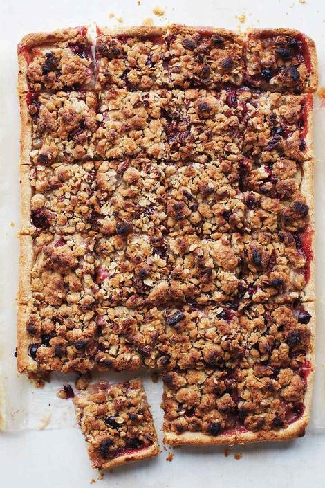 Pear Cranberry Slab Pie