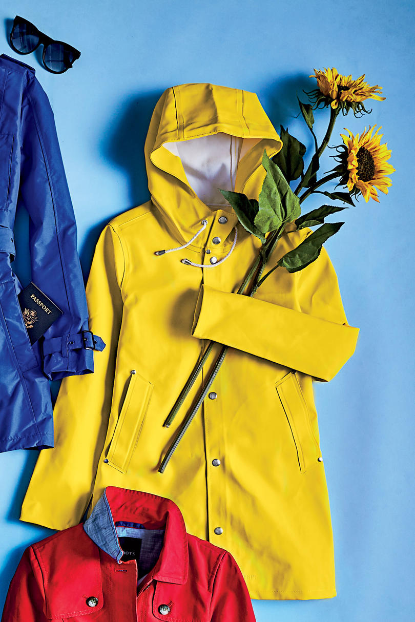 Stutterheim Women's Yellow Stockholm Raincoat