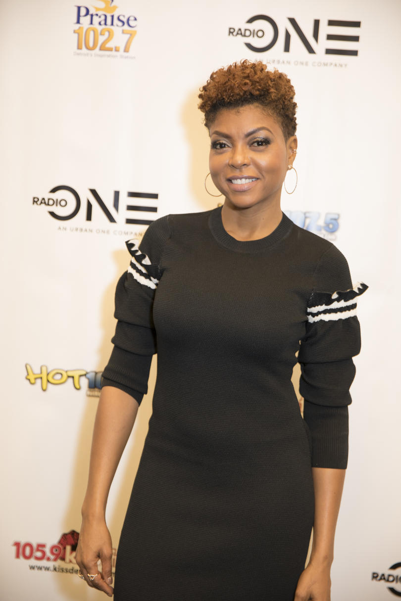 Taraji P. Henson's Copper Curls