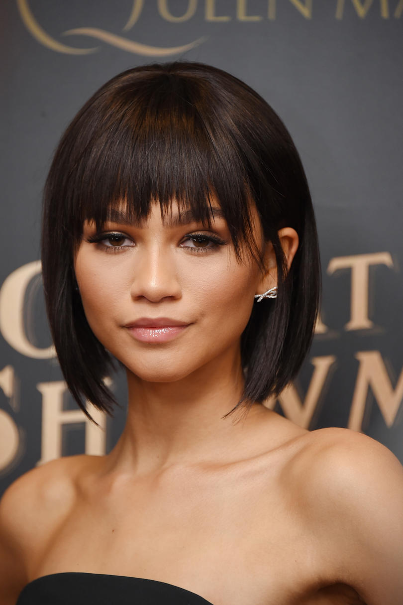 Zendaya's Sleek Bangs