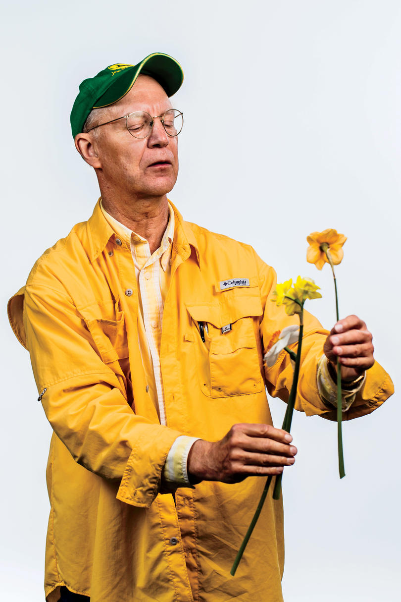 David Vaughan of the Garden Center of Virginia Daffodil Show