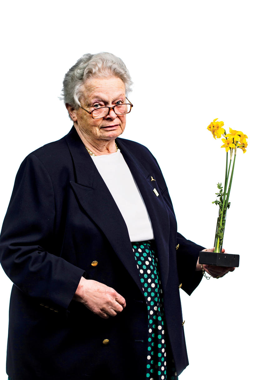 Anne Donnell Smith of the Garden Center of Virginia Daffodil Show