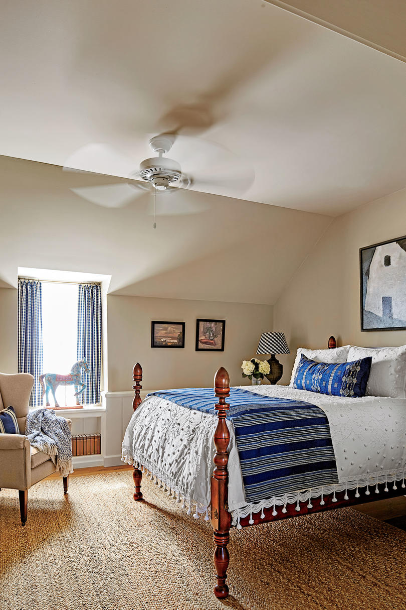 Phoebe Howard Designed Texas Hill House Guest Room