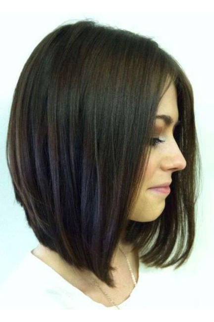 styling ideas for medium length hair shoulder length hairstyles to show your hairstylist asap 9004 | angled
