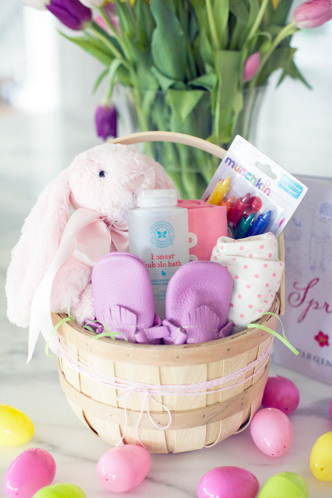 Easter basket ideas for kids teenagers and adults southern living baby girl easter basket negle Choice Image