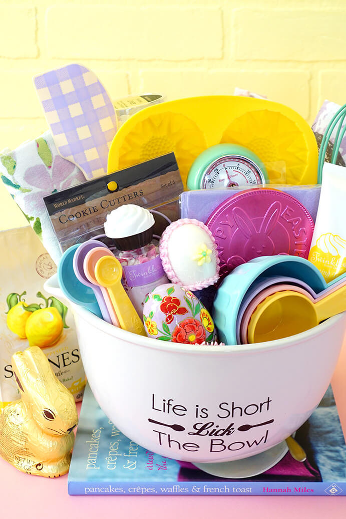 Easter basket ideas for kids teenagers and adults southern living baking easter basket negle Gallery