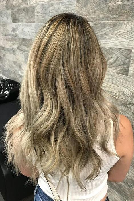 Coppery Ash Blonde