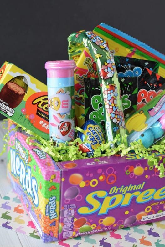 Easter basket ideas for kids teenagers and adults southern living diy candy easter basket negle Gallery