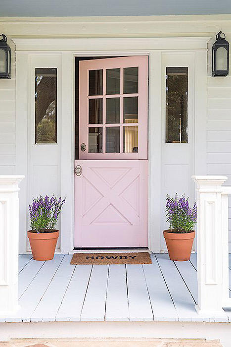 Pink Dutch Door & Pink Front Doors That Have Us Begging for Spring - Southern Living