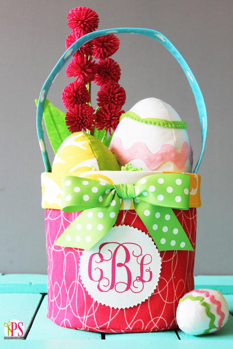 Easter basket ideas for kids teenagers and adults southern living fabric easter basket negle Gallery