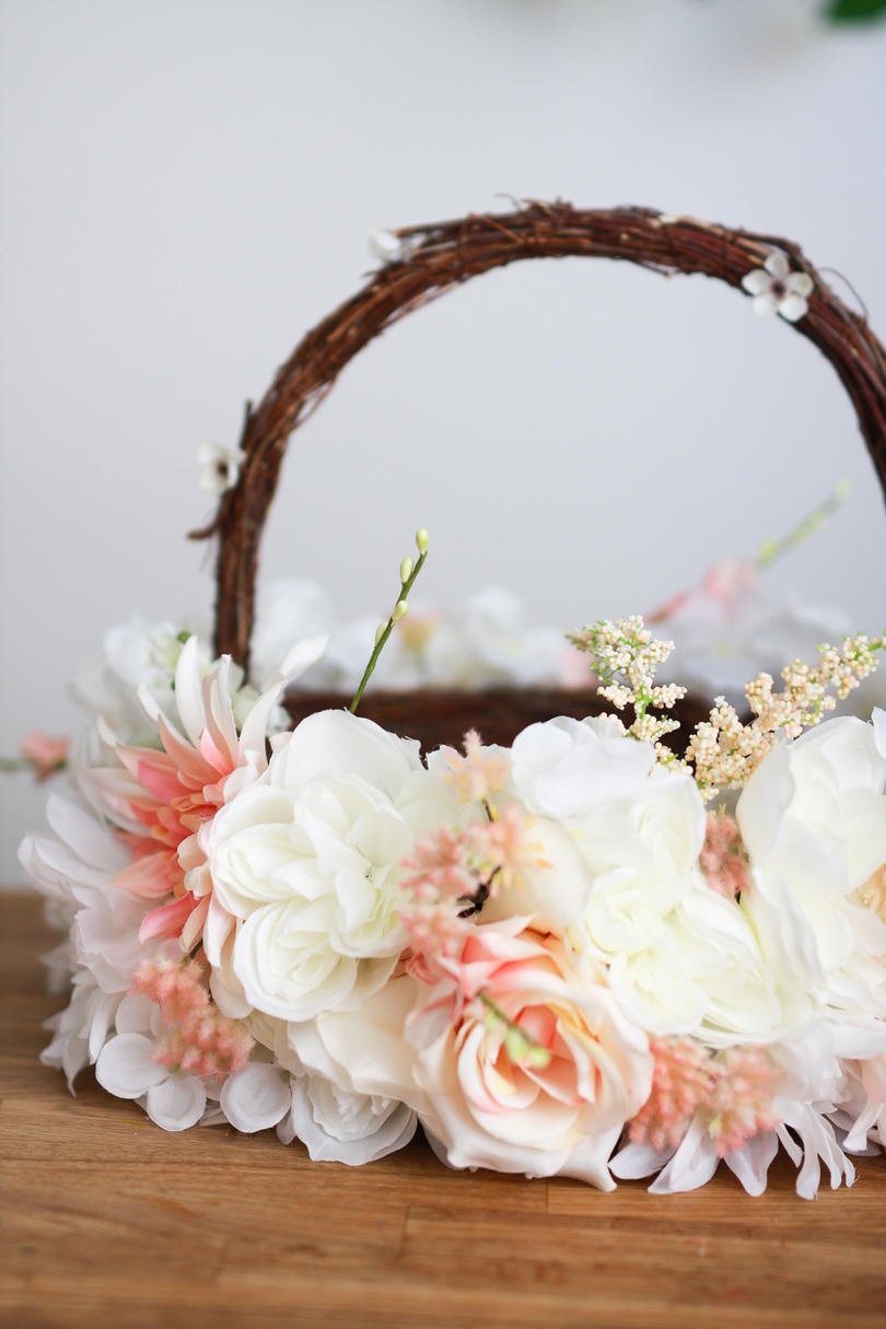Easter basket ideas for kids teenagers and adults southern living faux flowers easter basket negle Image collections