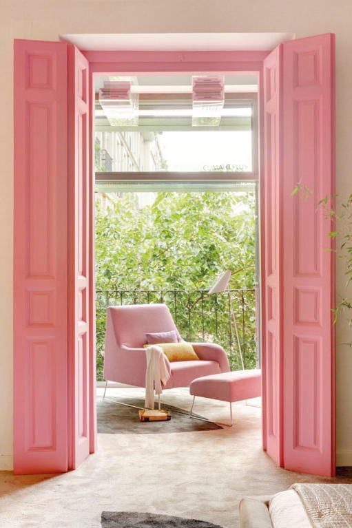 Think Pink & Pink Front Doors That Have Us Begging for Spring - Southern Living