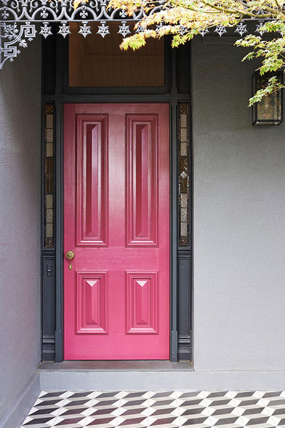 Pink Front Doors That Have Us Begging For Spring