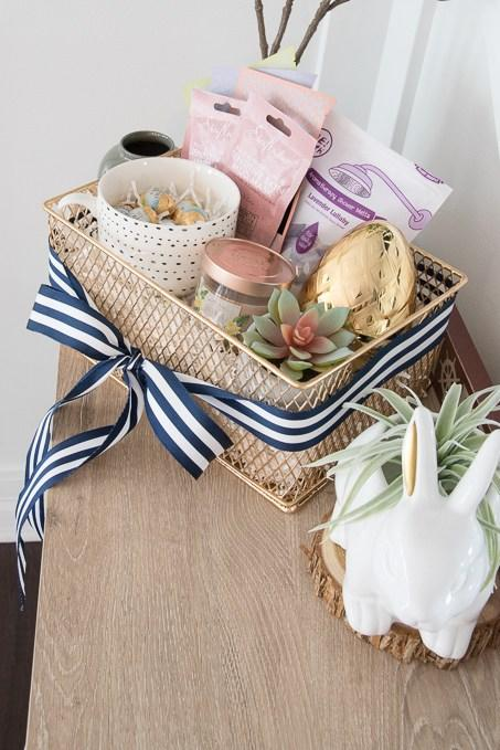 Easter basket ideas for kids teenagers and adults southern living pampering easter basket negle Images