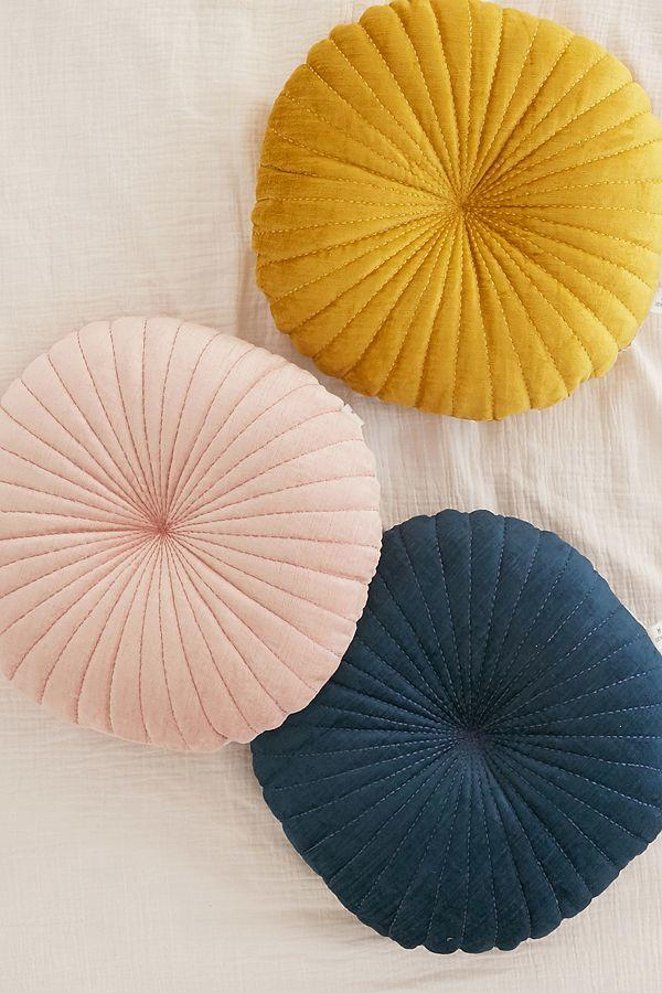 Shelley Round Velvet Pillow