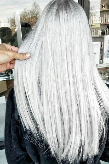 Platinum Ash Blonde
