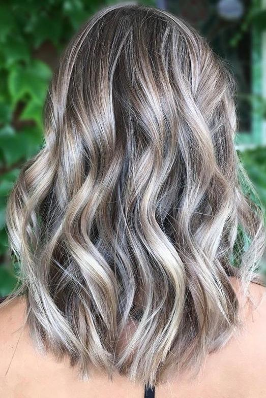 Silver Ash Blonde Highlights