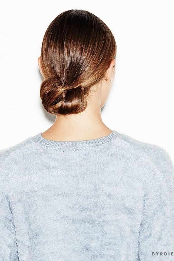 Sleek and Chic Low Bun
