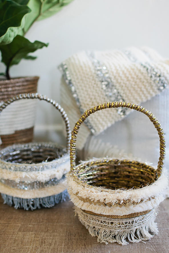 Sparkling Moroccan Easter Baskets