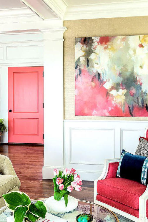 Pink Front Doors That Have Us Begging for Spring - Southern Living