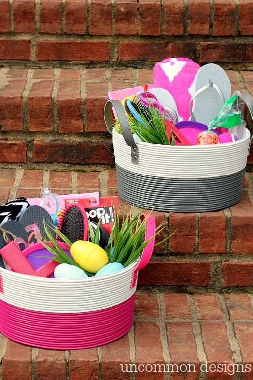 Easter basket ideas for kids teenagers and adults southern living tween easter baskets negle Images