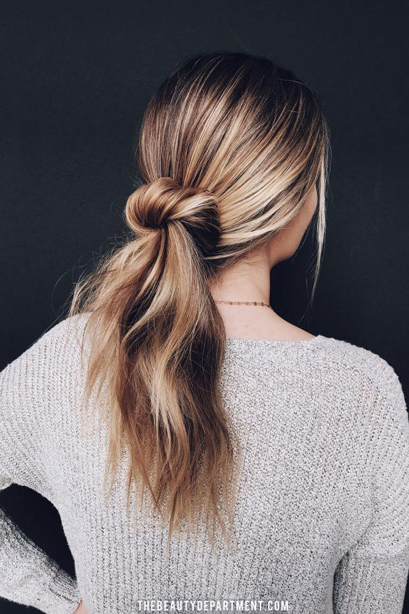 Messy Bun Hairstyles That Ll Still Have You Looking