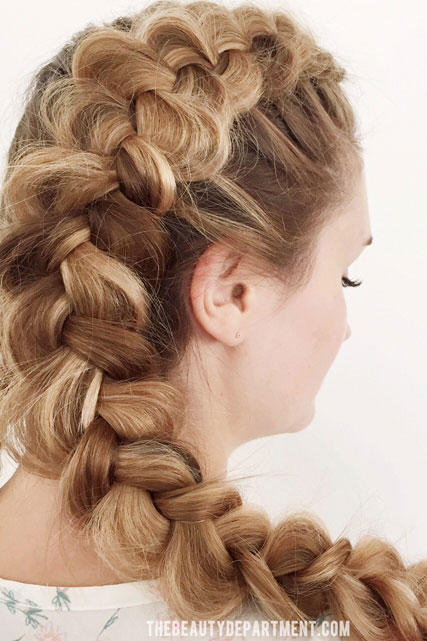 Romantic Dutch Braid