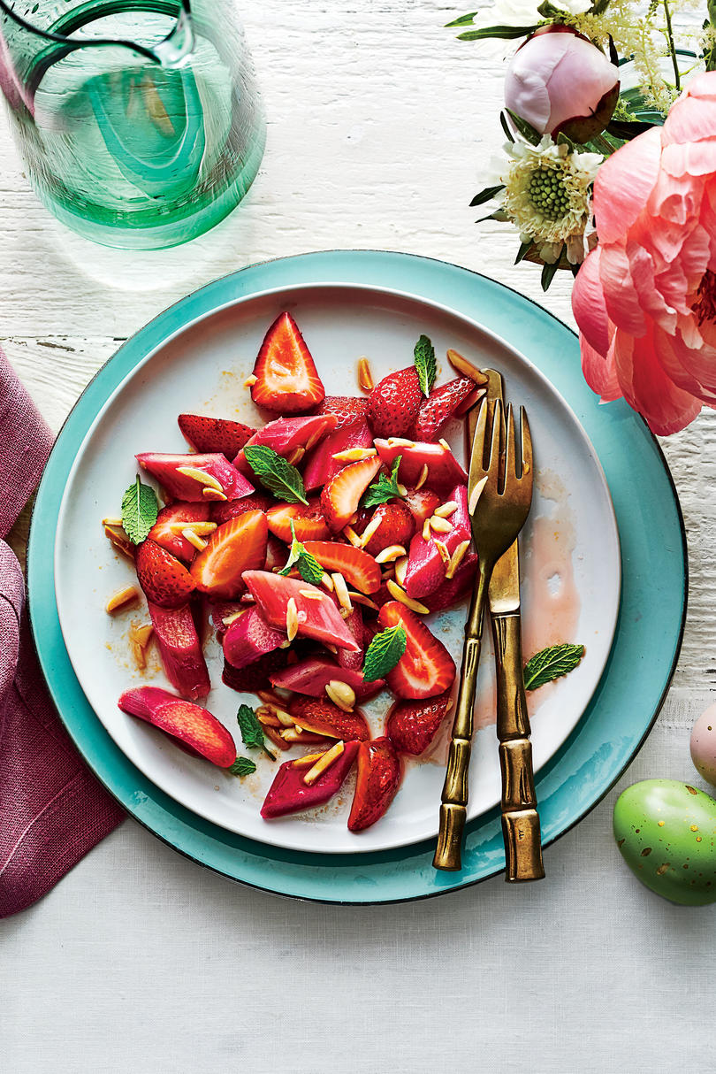 Strawberry-Rhubarb Salad