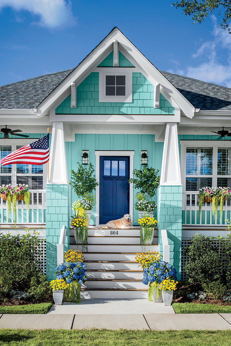 10 Secrets Of Curb Appeal Southern Living