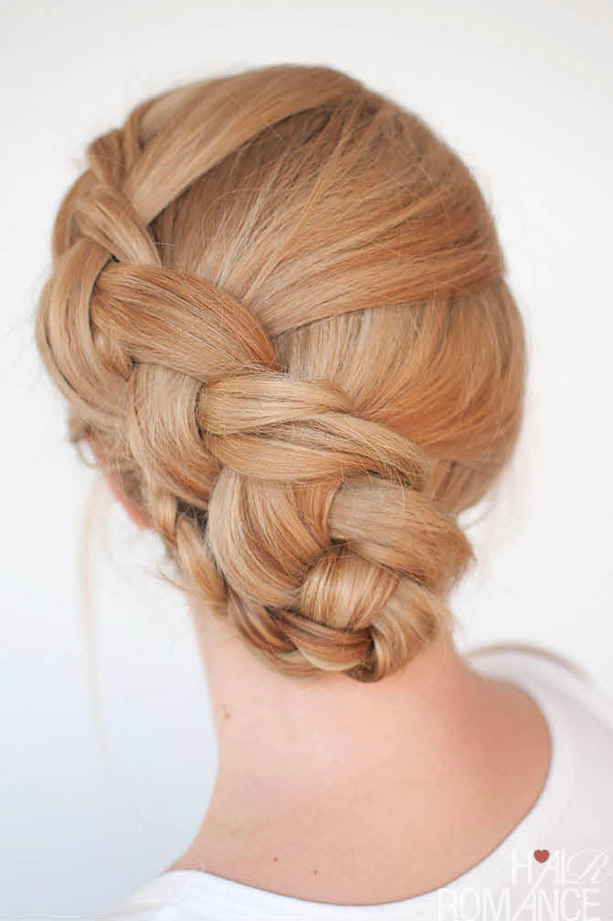 Twist Braid Updo
