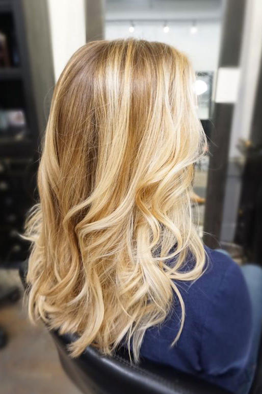 Honey Butter Balayage