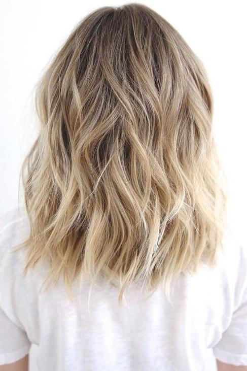 Superb Balayage Blonde Hair Color
