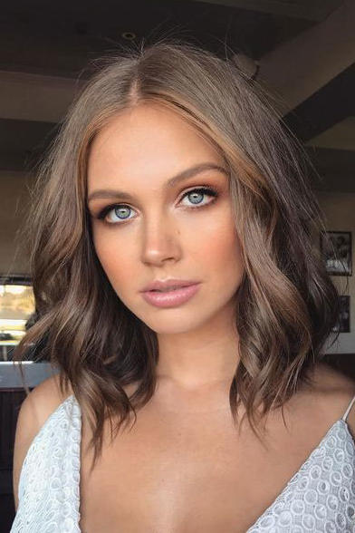 brown hair style brown hair is trending and it s prettier than it 3047 | blended bob