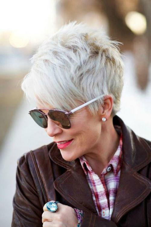 The Best Short Haircuts For Older Women Southern Living