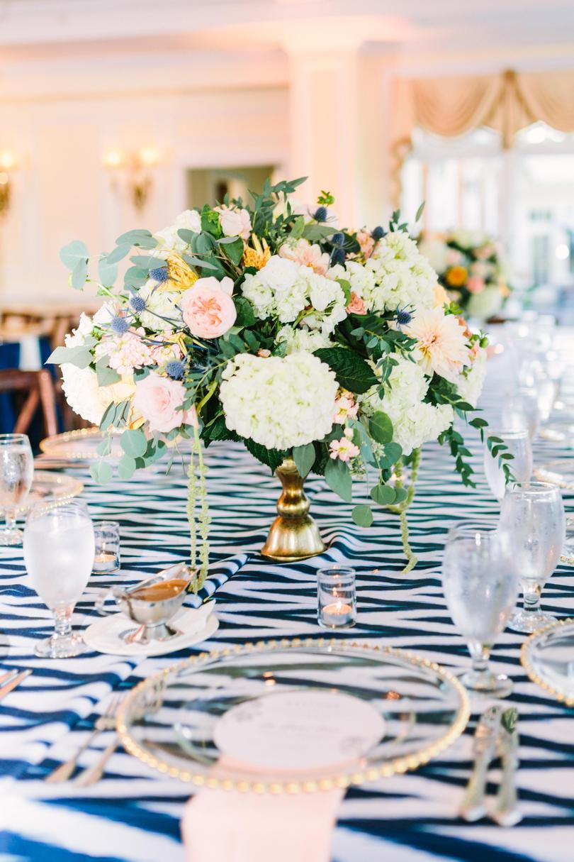 Patterned Wedding Tablecloth