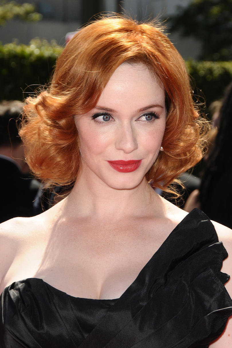 Christina Hendricks' Retro Bob