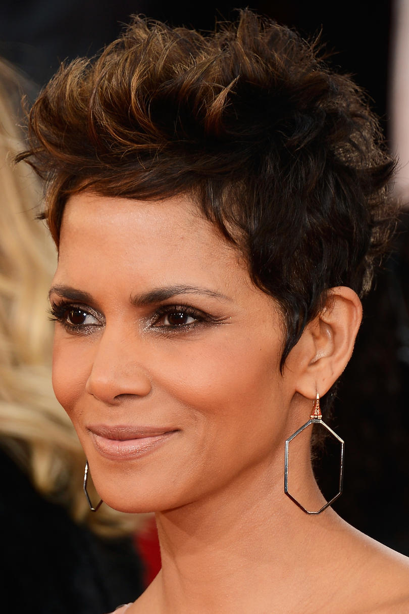 Halle Berry's Tousled Pixie