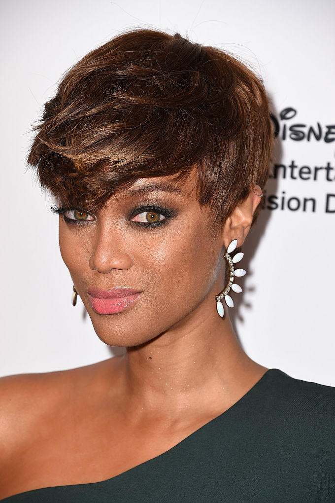 Tyra Banks' Edgy Crop