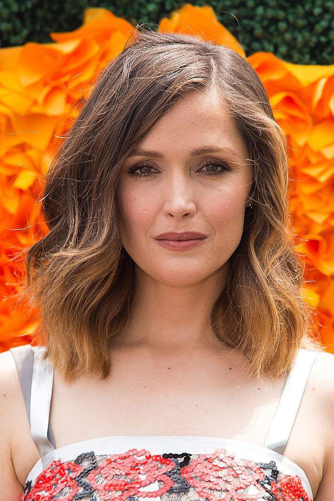 Rose Byrne's Balayaged Lob
