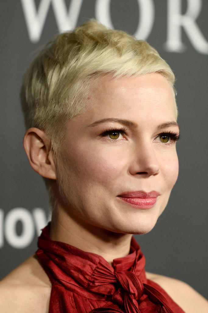 Michelle Williams' Platinum Pixie