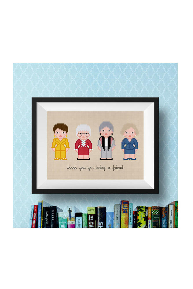 Golden Girls Pattern