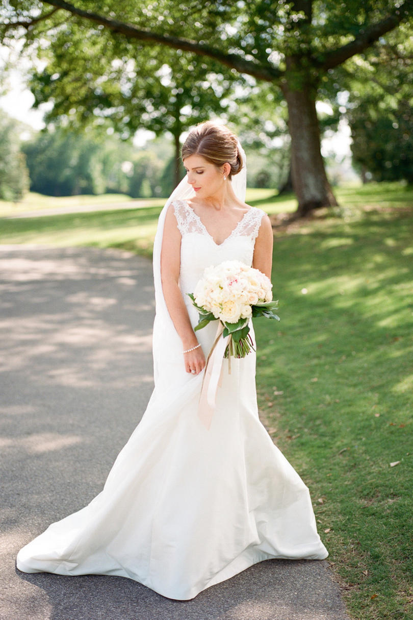 Bridal Fit and Flare Gown