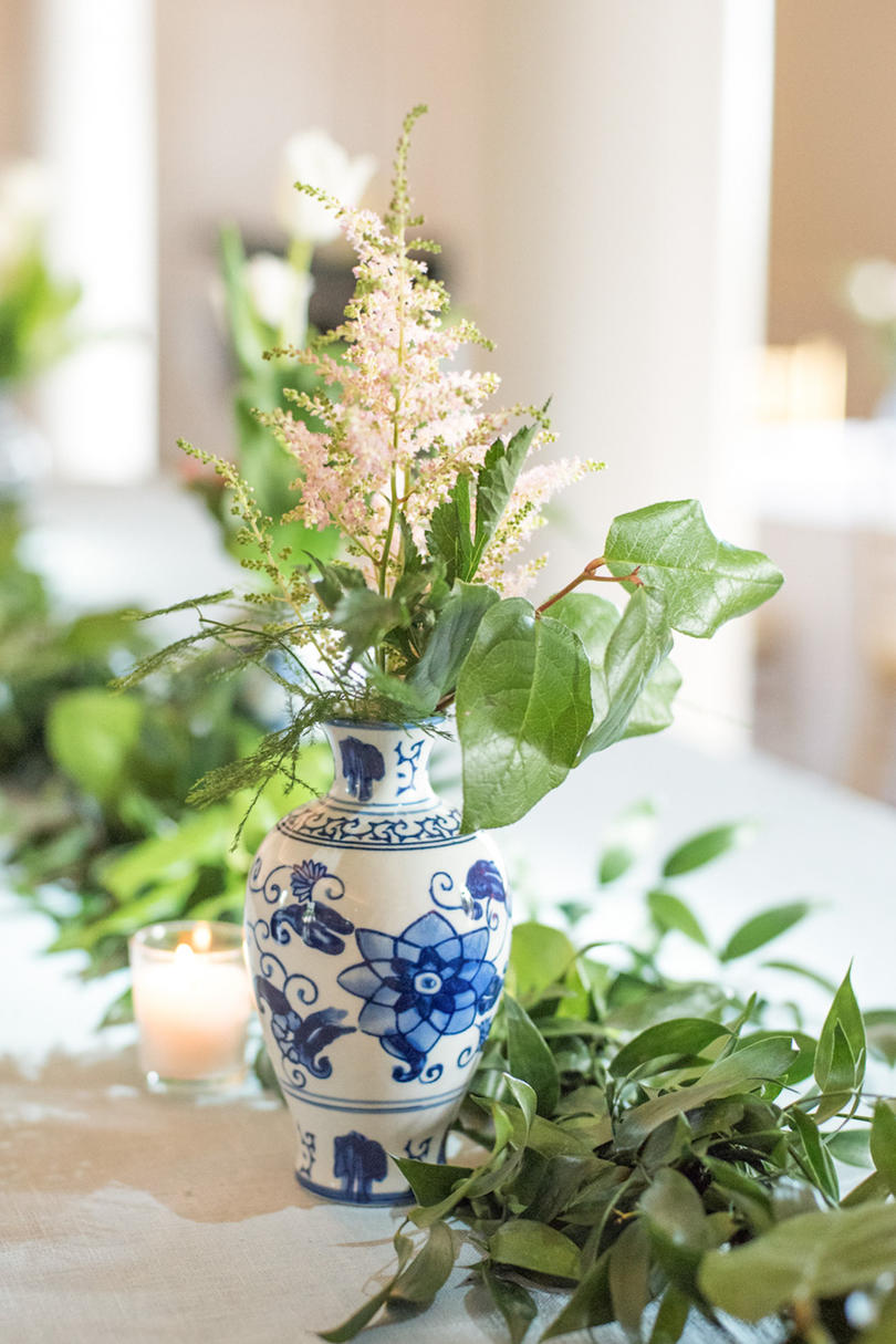 Chinoiserie wedding decor