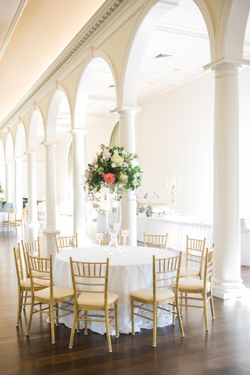 Sweet Southern Wedding Reception Space