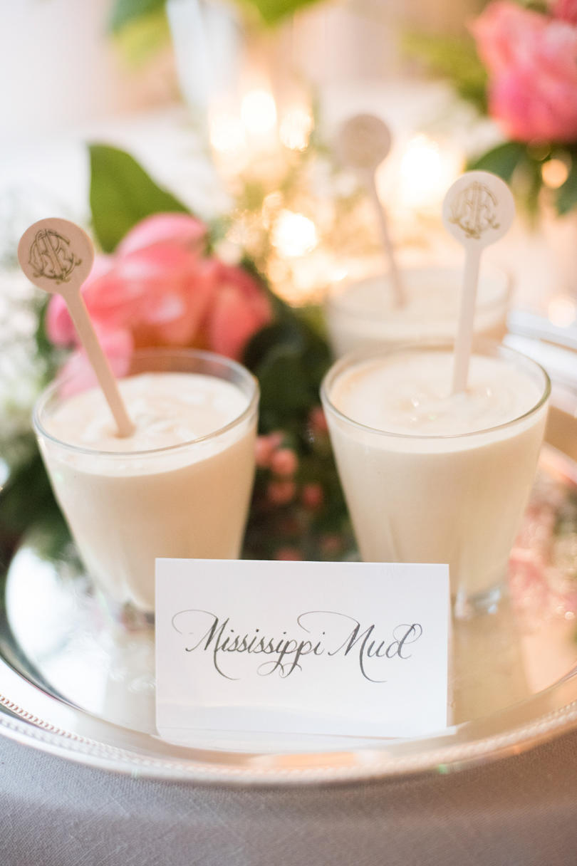 Mississippi Muds with Monogrammed Accents