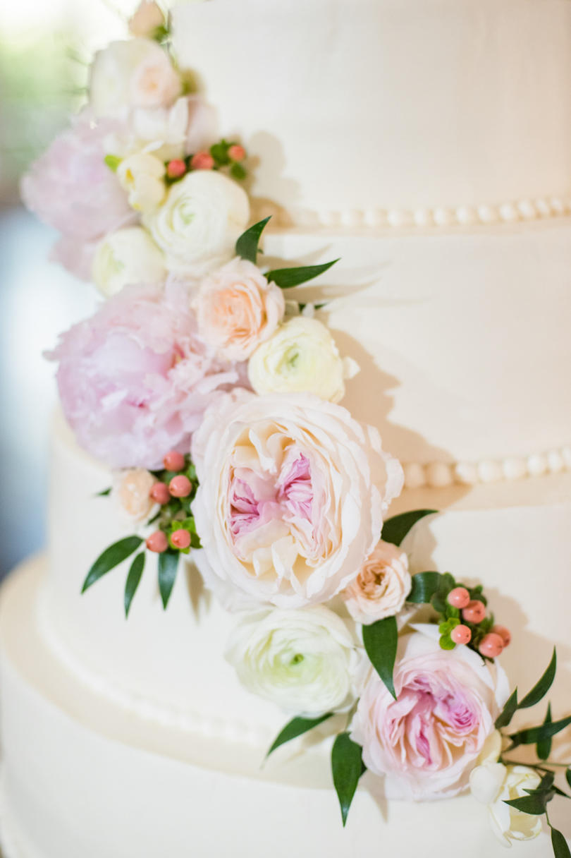 Cascading Pink Peonies